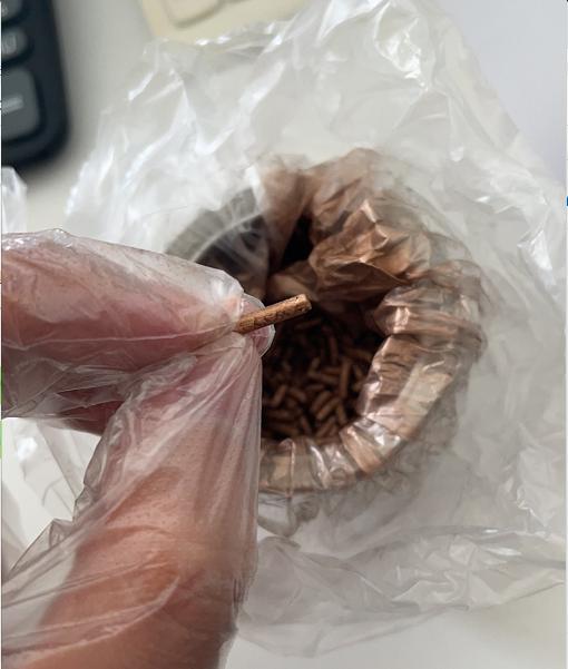 Bronze Powder Granule